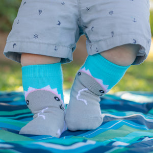 Baby Socks - Shark Bites!