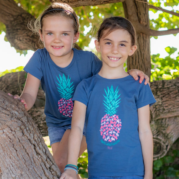 Reclaiming Pineapple Youth Short Sleeve T-Shirt
