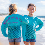 Mermaid in Training Youth Long Sleeve Jersey