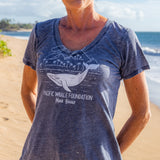 Pacific Whale Foundation Whale on Board Women's T-Shirt