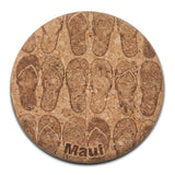 Cork Laser-engraved Coasters