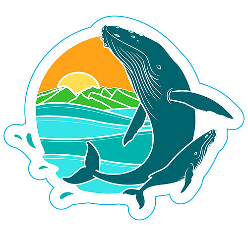 Sticker Humpback Whale Pacific Whale Foundation