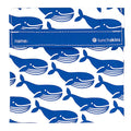 Reusable Velcro Sandwich Bag -  Blue Whale