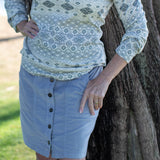 Logan Skirt - Grey