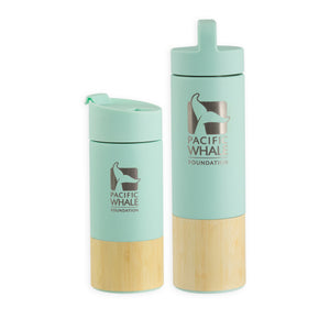 Bamboo Sleeved Water Bottle