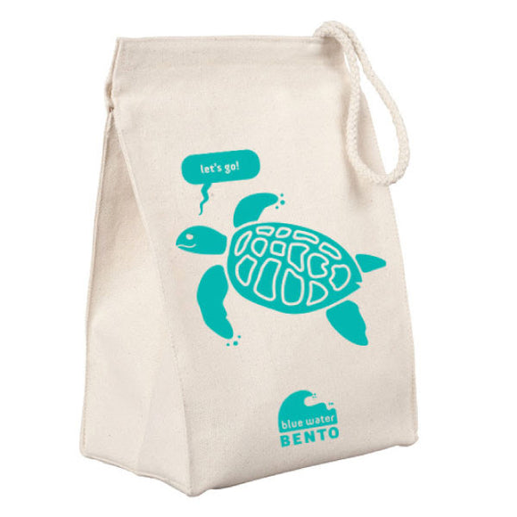 Blue Water Bento Sea Turtle Lunchbag