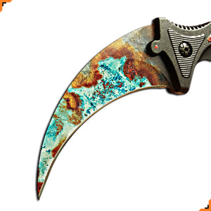 Case Hardened Karambit