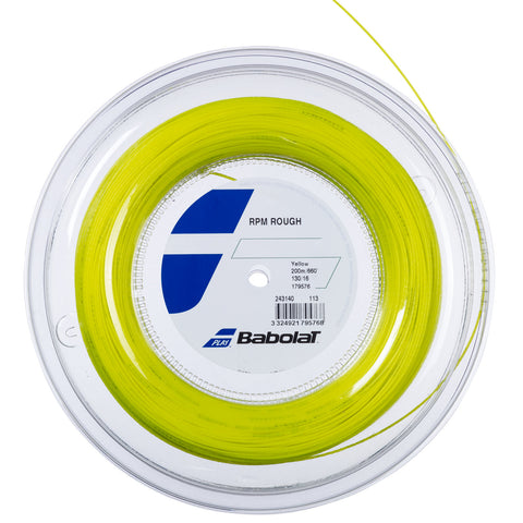 Babolat RPM Blast Rough Reel (660') Yellow
