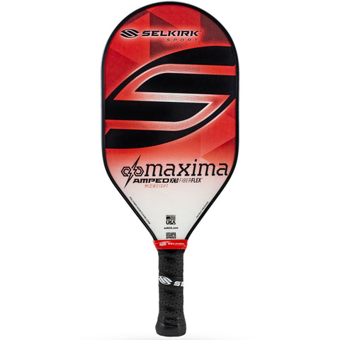 Selkirk Amped Maxima Midweight 2020 Pickleball Paddle Red