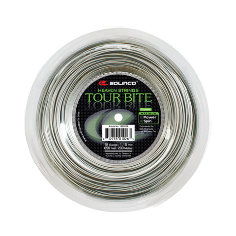 Solinco Tour Bite Reel (660') Tennis String