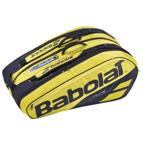 Babolat Pure Racket Holder 12 Pack Yellow