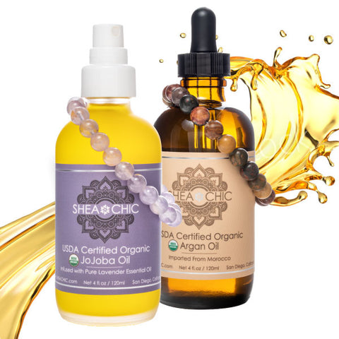 USDA Certified Organic Oils