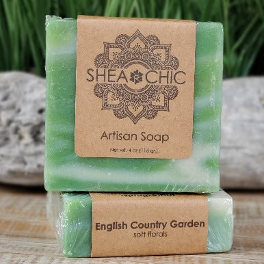 English Country Garden soap