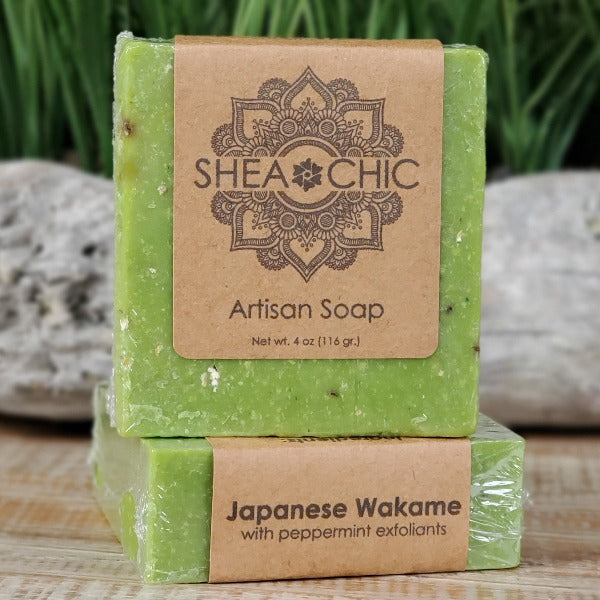 Japanese Wakame soap