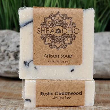 Rustic Cedarwood Tea Tree soap