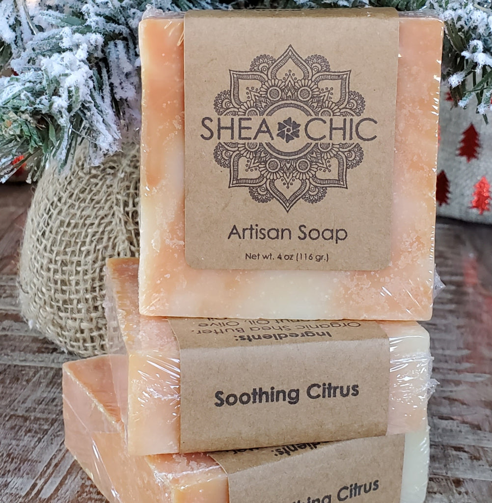 Soothing Citrus*** Holiday Soap***