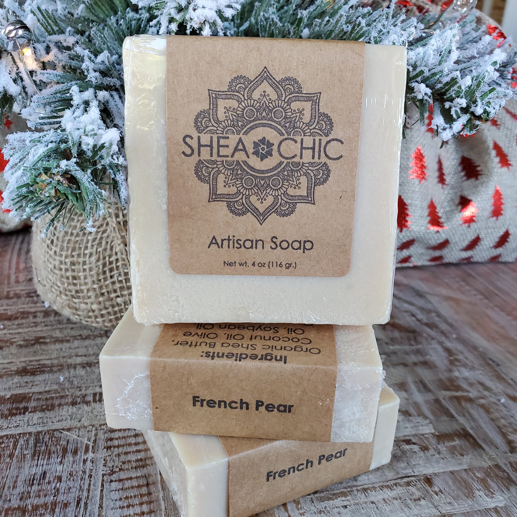 French Pear*** Holiday Soap***