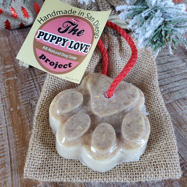 Dog Soap - Made with Shea Butter and Detergent Free - Perfect Stocking Stuffer!