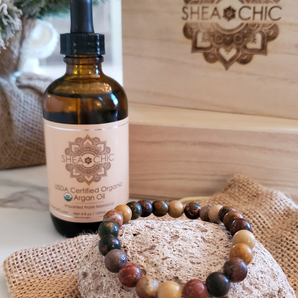 Heavenly Organic Argan Oil Gift Set