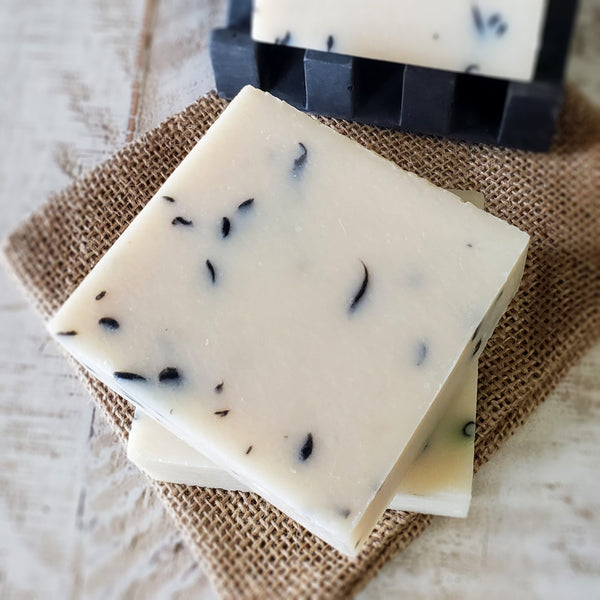 Rustic Cedarwood Tea Tree Organic Shea Butter Soaps - Seasonal