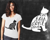 Cat Hair Graphic T-shirt