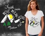 Faith Can Move Mountains Graphic T-shirt