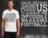 Football Coach Graphic T-shirt