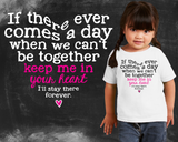 Keep Me In Your Heart Girls Graphic T-shirt
