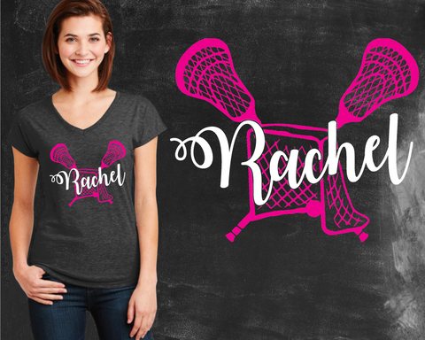 Lacrosse Graphic T-shirt