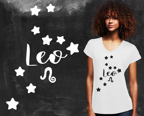 Leo Zodiac Graphic T-shirt