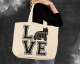 Manx Cat Love Tote Bag
