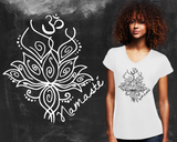 Namaste Graphic T-shirt