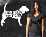 Beagle Hair Don't Care Beagle Dog Shirt
