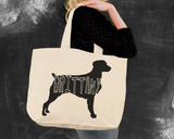 Brittany Dog Tote Bag