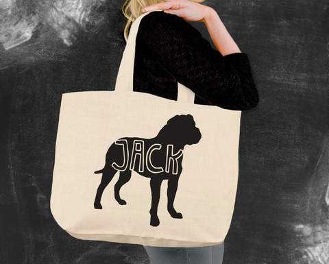 Bullmastiff Tote Bag