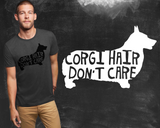 Corgi Hair Don't Care Pembroke Welsh Corgi Dog Shirt