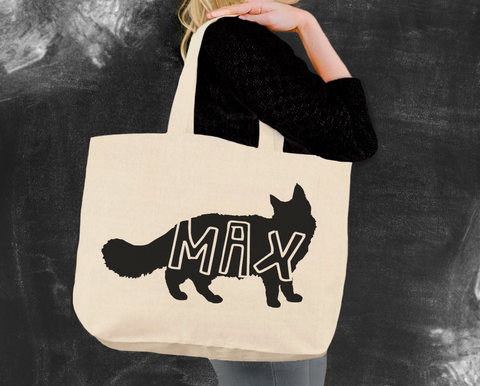 Maine Coon Cat Tote Bag