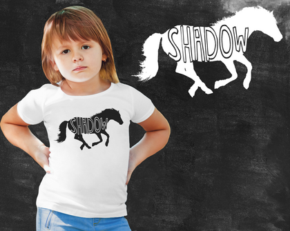 Horse Shirt Kids Graphic T-shirt