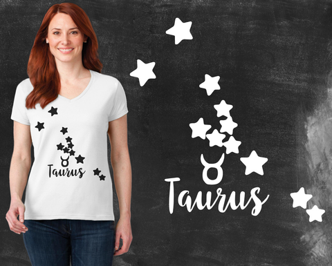 Taurus Zodiac Graphic T-shirt