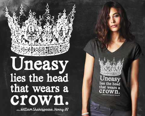 Uneasy Lies the Head Graphic T-shirt