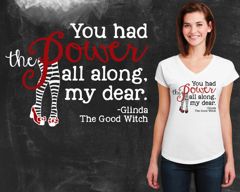 You Had the Power Wizard of Oz Graphic T-shirt