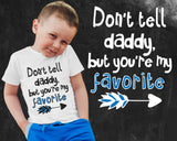 Don't Tell Daddy Boys Graphic T-shirt