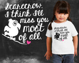 Miss You Wizard of Oz Kids Graphic T-shirt