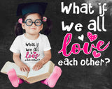 Love Each Other Kids Graphic T-shirt