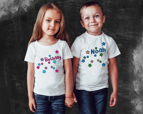 Aquarius Zodiac Kids Graphic T-shirt
