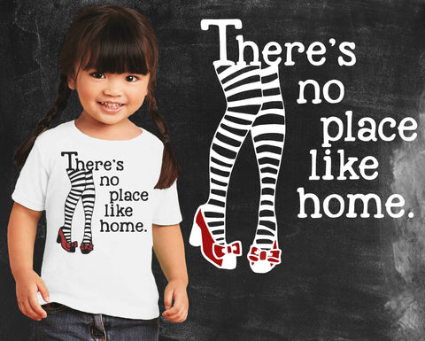 No Place Like Home Wizard of Oz Kids Graphic T-shirt
