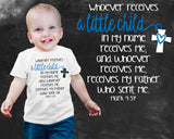 A Little Child Mark 39:37 Boys Graphic T-shirt