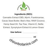 CBD Creme - Lemon Grass (50ml)