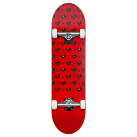 ANTIZ - Skateboard Complet - Owl Red - 8.0""