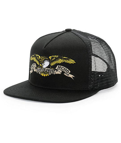 ANTIHERO - Eagle Embroidered Trucker - Casquette /Noir